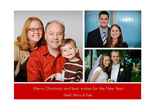 Robison Family Card Back