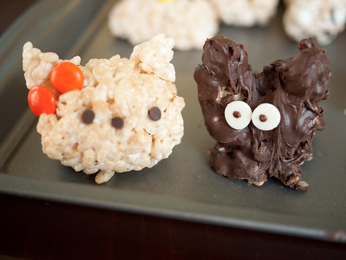 Hello Kitty Rice Crispy Treats