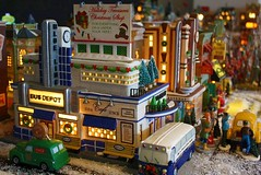 Christmas Village #11 (Terry.Tyson) Tags: dept56 lemax miniaturechristmasvillage christmas2009