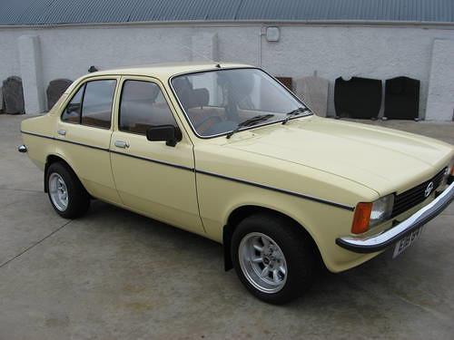 this is an Opel Kadett! opels