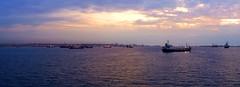 Luanda Panorama - SP Macaulay 2009 (SPMac) Tags: offshore anchor oil total esso handler searcher angola luanda maersk ahts