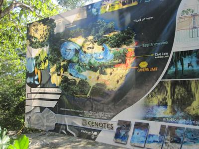 Cenote Map