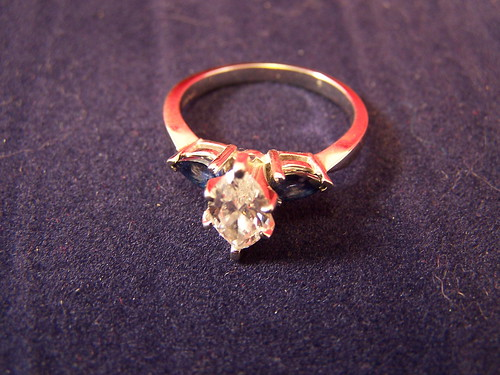 New engagement ring