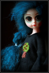 ~ Dark Shadows ~ (jillybug ~) Tags: eyes sad thankyou susie custom xox giftee bypolly
