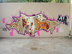 ARAB, Puerto Rico, 2004 (KET ONE) Tags: graffiti pieces puertorico arab doc burners ket tc5 alanket