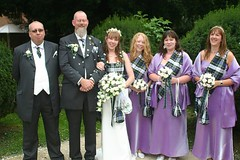 tina & daves wedding day