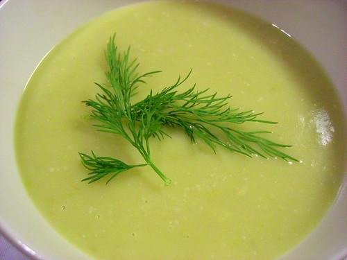 Крем-суп из цветной капусты