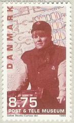 danish stamp 2