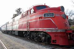 Chicago, Rock Island & Pacific Railroad  No. 630 (E6A), Kansas, Baldwin City (4,115) (EC Leatherberry) Tags: kansas locomotive e6 1941 douglascounty 652 excursiontrain chicagorockislandpacificrr therockisland midlandry