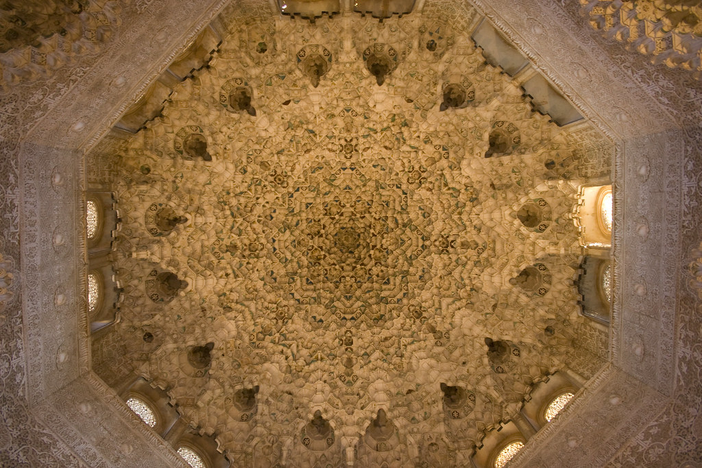 Alhambra detailed ceiling