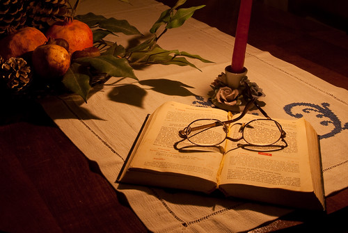 Day #10 - Reading by Candle Light
