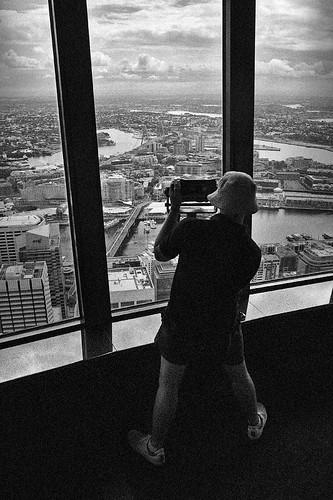 Australia. Sydney. On the Sydney Tower.