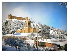 AGUILAR DE CAMPO - Palencia. (canduela) Tags: espaa spain romanesque castillo palencia romnico santacecilia flickrdiamond aguilardecampo pasinporlaexcelencia