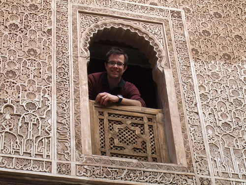 Jeroen in Marrakech