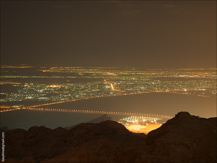 Al Ain from the top