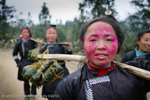 Miao Celebrants, Sanpan Village