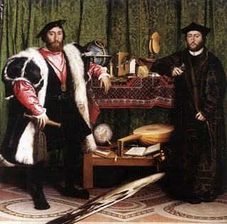 Holbein, The Ambassadors
