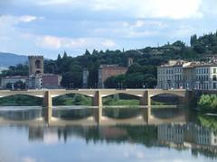 Ponte alla Grazie, Florence, Italy (Cam Wilde) Tags: bridge italy florence italia ponte firenze grazie