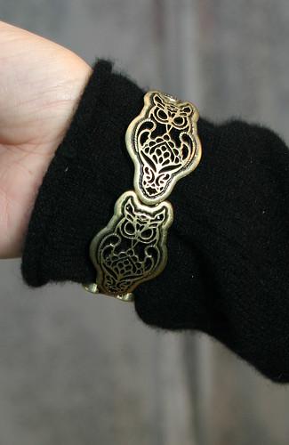owl-y bracelet