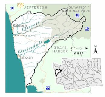 Quinault Map