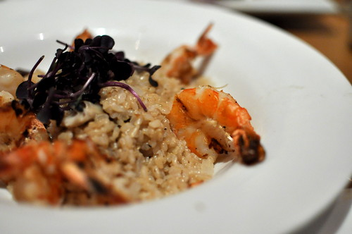 GRILLED SHRIMP RISOTTO