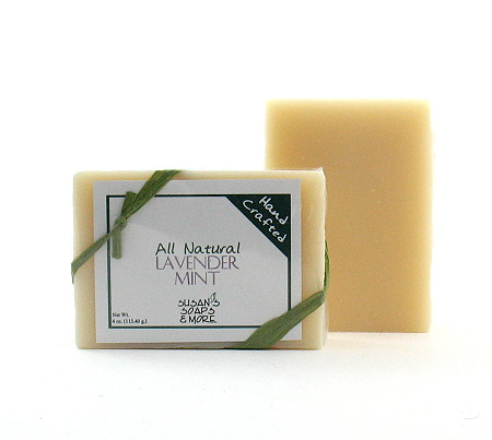 Lavender-Mint-Soap