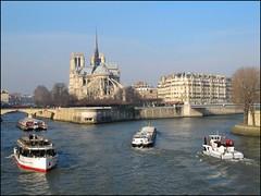 Notre Dame de Paris (Pantchoa) Tags: paris france seine de notredame pont bateau pniche bteau francelandscapes leuropepittoresque pantchoa