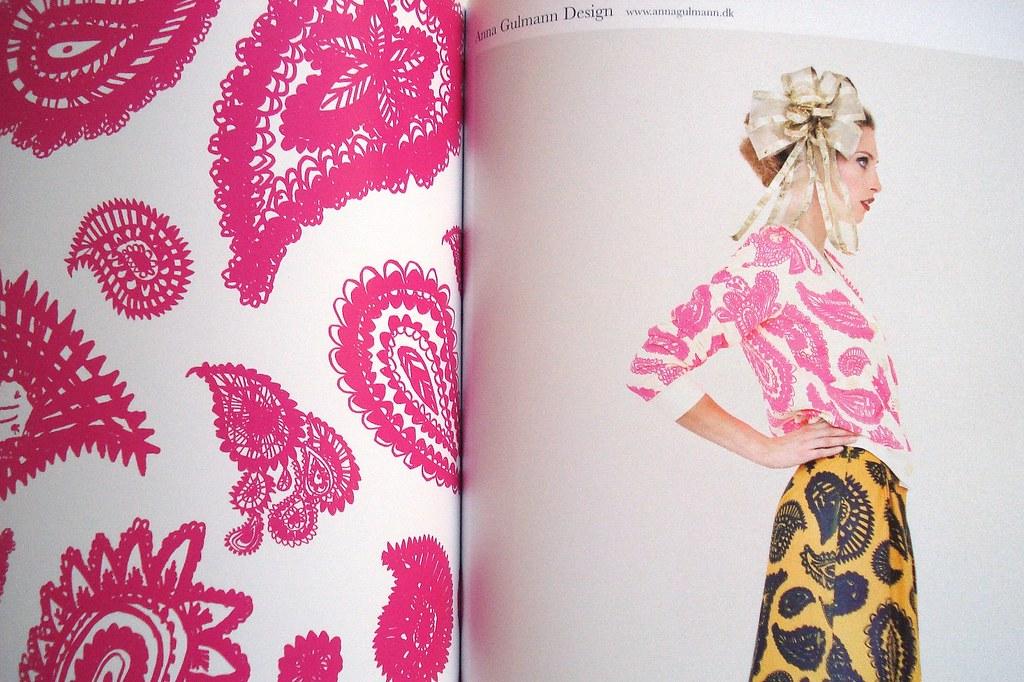 """do livro """" Los estampados em la moda"""" de Macarena San Martin"""