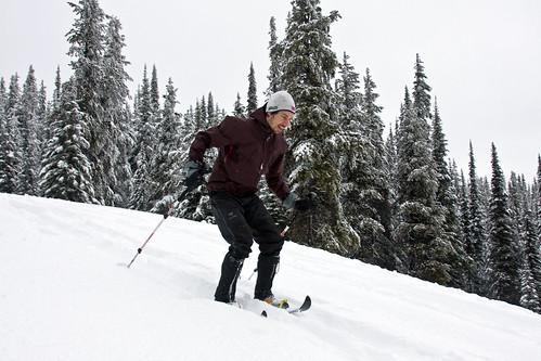 Mini ski race