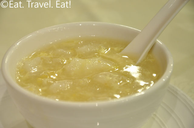 Fish Maw and Corn Soup Bowl