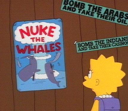 ¡Bombardead a las ballenas!