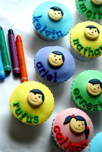 Classmate cupcakes