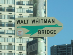 Old Walt Whitman Bridge Shield (2) (I.C. Ligget) Tags: road bridge philadelphia sign port river pennsylvania authority goose pa shield delaware walt whitman bicentennial 1976 drpa