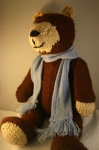 Knitted Bear (7)