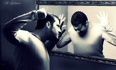 MiRRoR AttacK   (Self Portrait) (aliaydogmus35) Tags: selfportrait reflection self turkey movie mirro tripod attack angry cry defense defence izmir efeckt efekt mywinners theunforgettablepictures thebestofday gnneniyisi thesuperbmasterpiece aliaydogmus