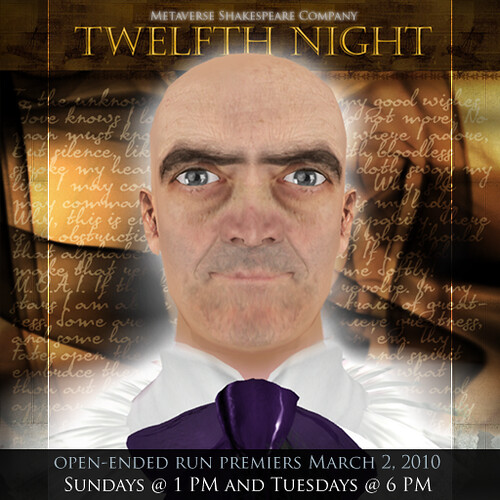 Metaverse Shakespeare Twelfth Night - Open-Ended Run