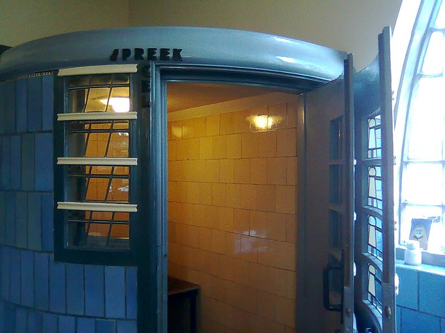 Phone booth from 1919.