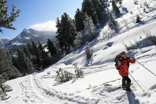 Schneeschuhwandern Turrach