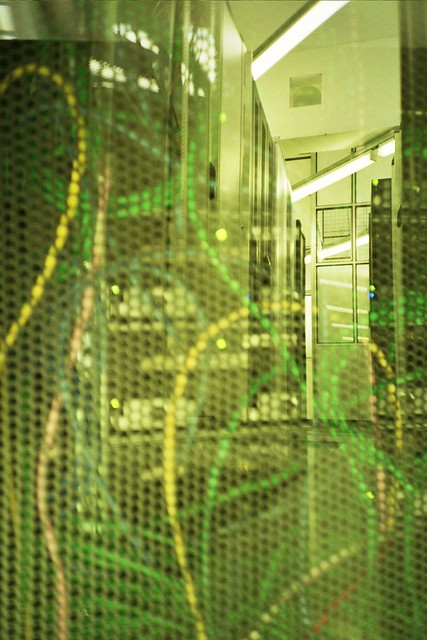 Datacentre Double Exposure