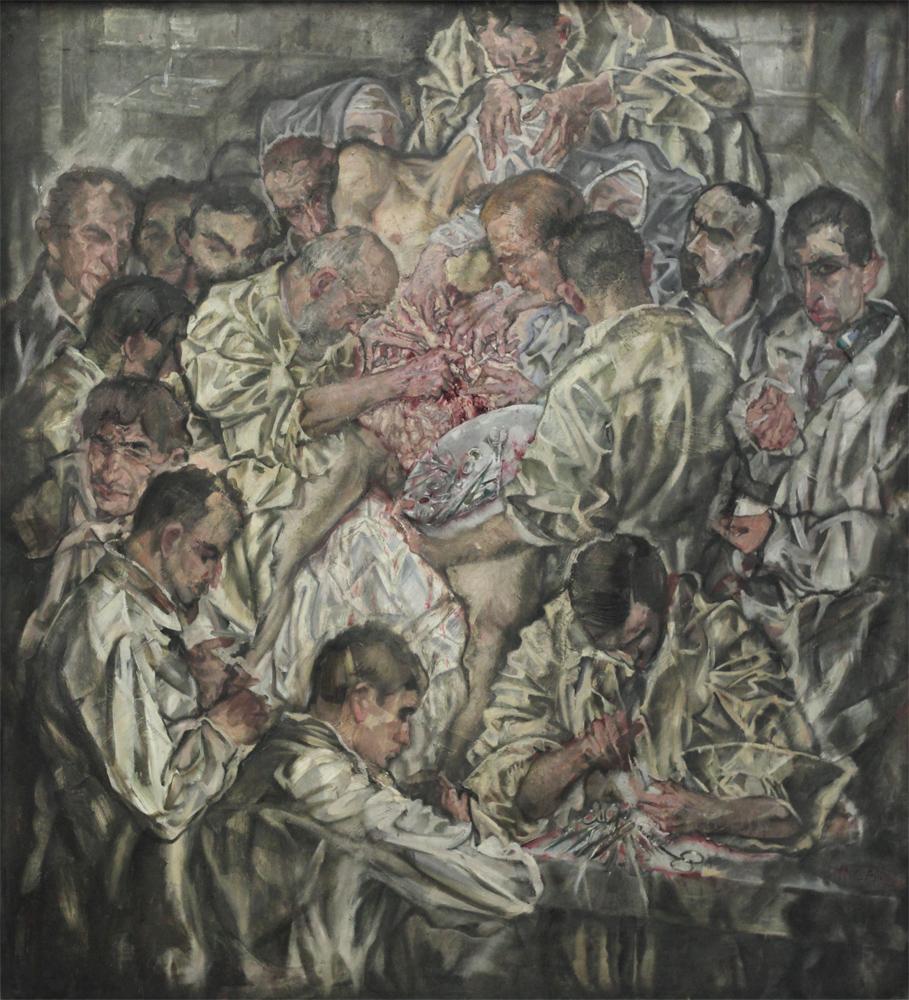 Max Offenheimer, Operation, 1912