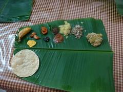 dsc03781 (MoNOloGuE0) Tags: cuisine kerala banana onam buttermilk pappadam achar payasam sadya avial onasadya