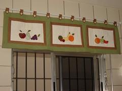 Band de frutas (Feltroterapia e Patchwork) Tags: frutas handmade artesanato patchwork jogo cozinha bordado band