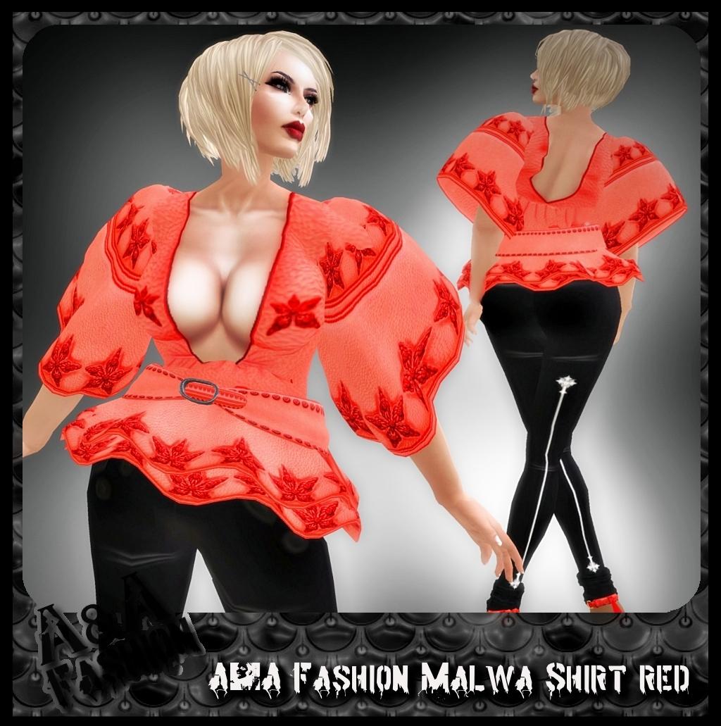 A&A Fashion Malwa Shirt Red