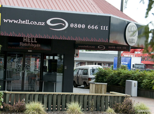 Hell makes good Pizza