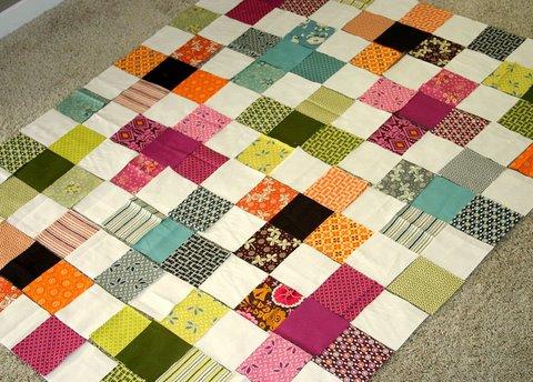 Flower Valley Quilt - designing