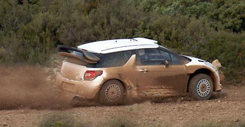 Citroen DS3 S2000 Rally