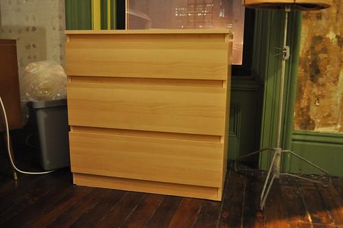 malm dresser before