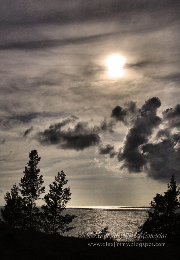 A moon or a sun,