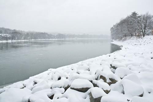 Snowy Susquehanna