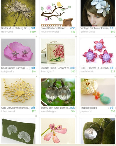 Botanical Collection- Treasury